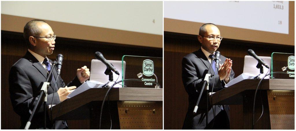 Tan Sri Abdul Wahid Omar, Pengerusi Permodalan Nasional Berhad (PNB) menyampaikan ceramahnya dalam tiga bahagian ; i- Penjelasan mengenai jawatannya sebelum ini dalam kabinet; ii- Kisah-kisah kejayaan PNB dan iii- Pelan Strategik PNB 2017-2022.