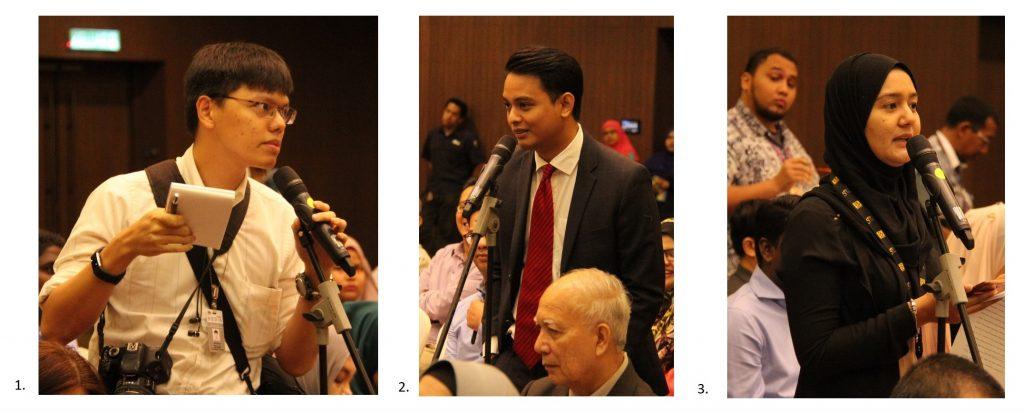 Sesi Soal-Jawab : Wartawan liputan dari 1. Malaysiakini, 2. Astro AWANI dan BERNAMA turut bertanyakan soalan.