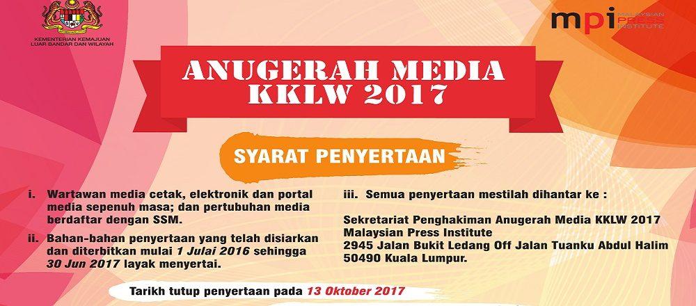KKLW anjur Anugerah Media KKLW tahun kedua!