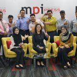 Bengkel Berhadapan Kamera Pegawai Japen di studio MPI Cyberjaya
